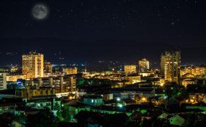 Leskovac nocu