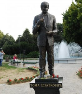 toma zdravkovic spomenik