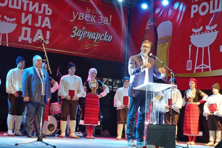 Председник Вучић отворио 28. Роштиљијаду