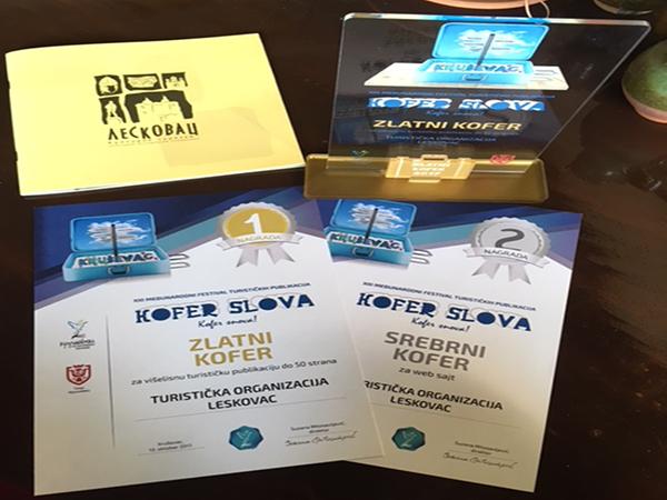 """Награде са фестивала """"Кофер слова"""" из Крушевца"""