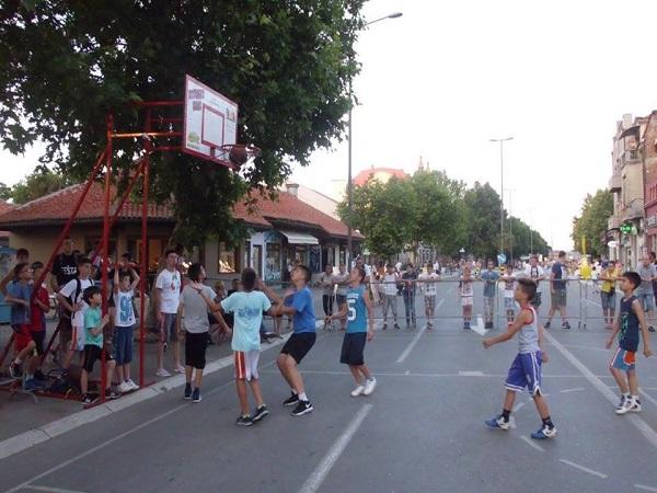 Турнир у уличном баскету